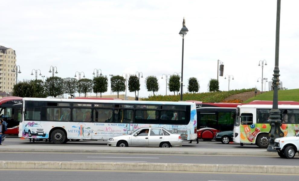 Bakıda bəzi avtobusların hərəkət sxemi müvəqqəti dəyişdiriləcək