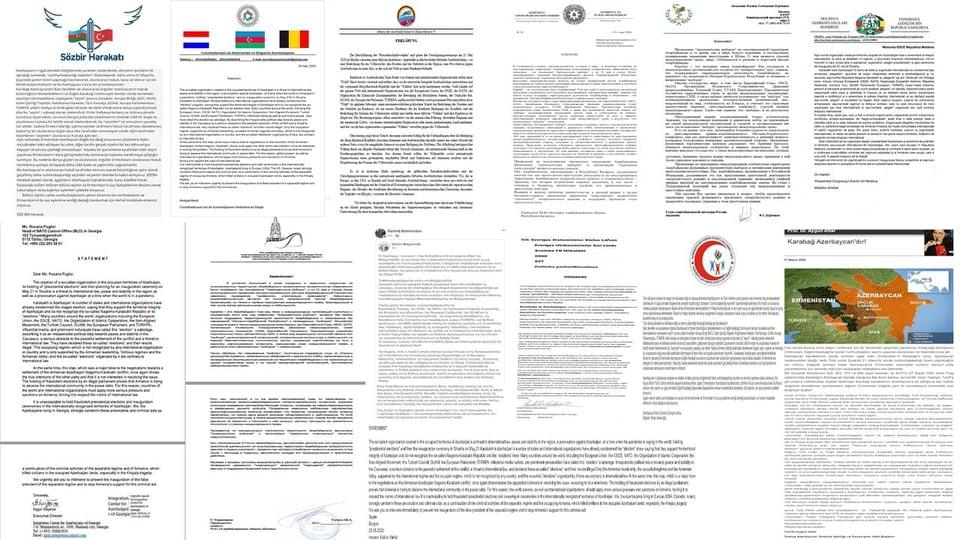 Azərbaycan diasporunun etirazı dünya mətbuatında