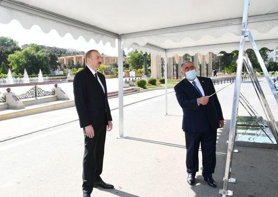 İlham Əliyev Bakıda açılışda – YENİLƏNİB + FOTO