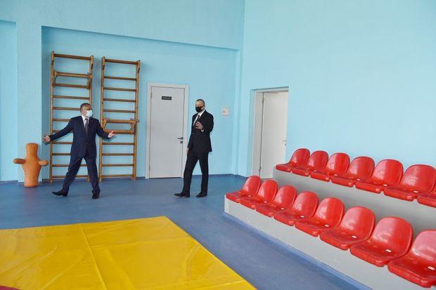 Tərtər Olimpiya İdman Kompleksinin açılışı olub – FOTO