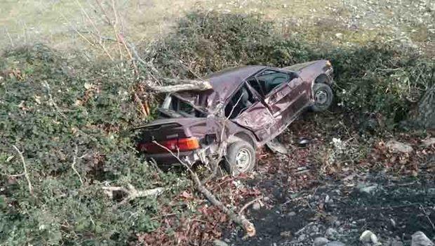 Masallıda avtomobil kanala aşdı: Ölən var