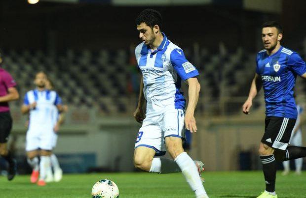 Azərbaycanda üç aydan sonra ilk futbol matçı keçirildi