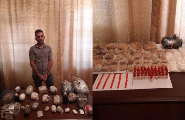 İrandan Azərbaycana külli miqdarda narkotik vasitənin keçirilməsinin qarşısı alındı – FOTO