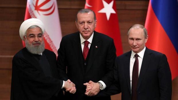 İran, Türkiyə və Rusiya prezidentlərinin videokonfrans vasitəsilə görüşü keçiriləcək