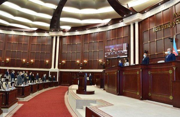 Parlamentin iclasının gündəliyi dəyişdirildi
