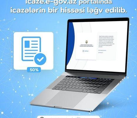 """""""ASAN xidmət"""": """"İcaze.e-gov.az"""" portalındakı icazələrin bir hissəsi ləğv edilib"""