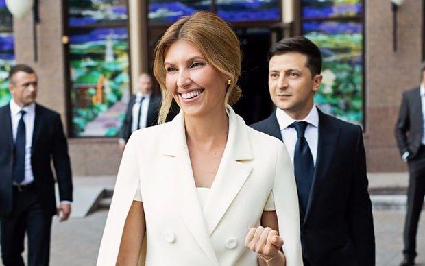 """Ukraynada """"Birinci xanım"""" statusu yaradılır"""