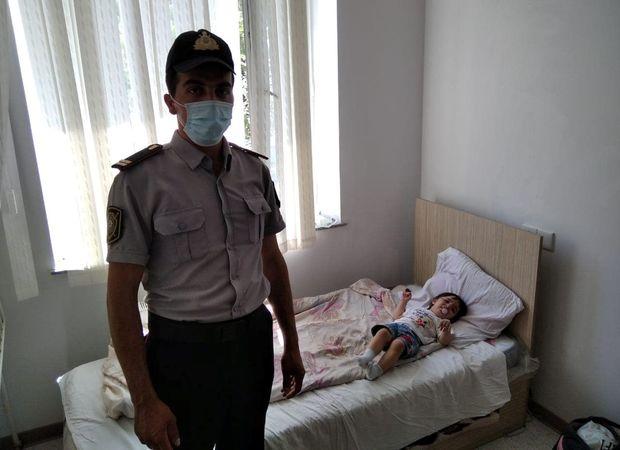 Polis Göyçayda suda boğulan azyaşlını xilas edib