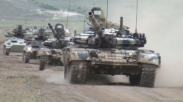 Azərbaycan Ordusu dağlıq ərazidə təlim keçirdi – VİDEO