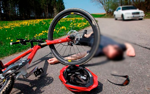 Avtobusla velosipedçini vurub öldürdü
