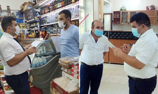 AQTA 76 ictimai iaşə və ərzaq satışı müəssisəsində qayda pozuntusu aşkarladı – FOTO
