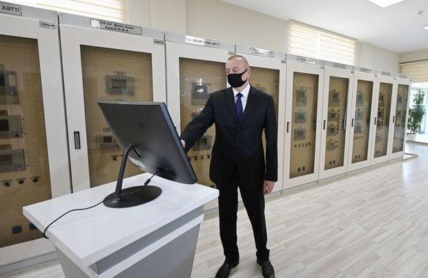 İlham Əliyev Bakıda açılışda – FOTO