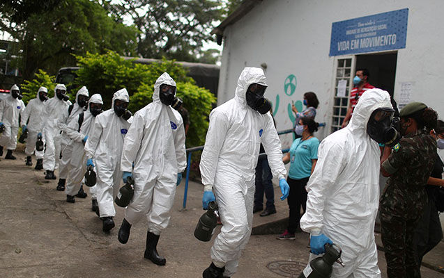 Braziliyada koronavirusdan 1 gündə 1223 nəfər öldü