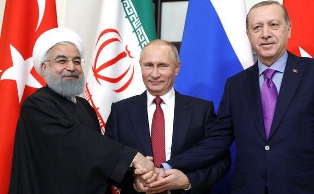 Rusiya, İran və Türkiyə prezidentləri videokonfrans formatında görüş keçirir
