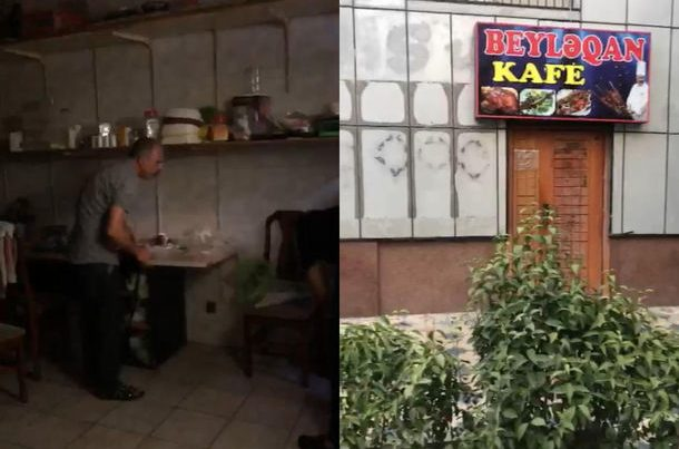 Bakıda karantin qaydalarını pozan kafe sahibi üç min manat cərimələndi – FOTO