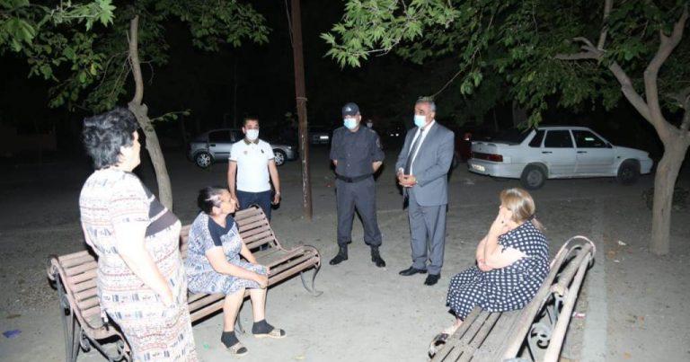 Gəncədə karantin rejimi ilə əlaqədar reyd keçirilib – Fotolar
