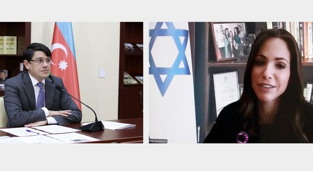 İsrailli nazir Fuad Muradova məktub ünvanlayıb