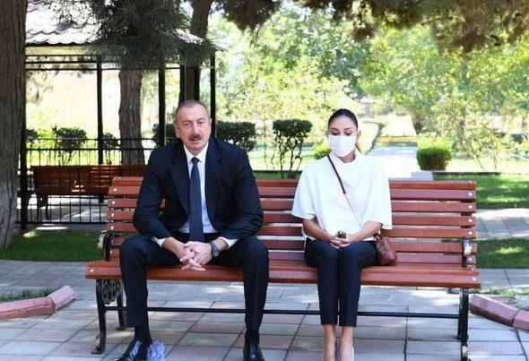 İlham Əliyev və Mehriban Əliyeva müalicə olunan hərbçilərə baş çəkdilər – VİDEO