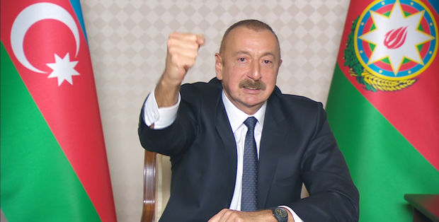 """Prezident İlham Əliyev: """"Ağdam, Laçın, Kəlbəcər rayonlarını qan tökülmədən biz qaytarırıq"""""""