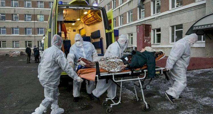 Rusiyada son sutkada 25173 nəfər virusa yoluxub
