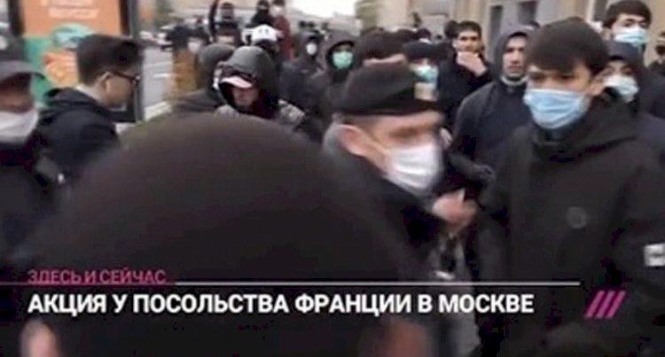 Ermənilər Moskvada belə ağladılar – Video