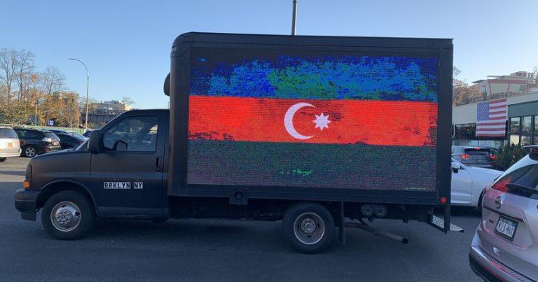 Nyu-Yorkda Şuşanın azad edilməsi münasibətilə avtoyürüş keçirilib