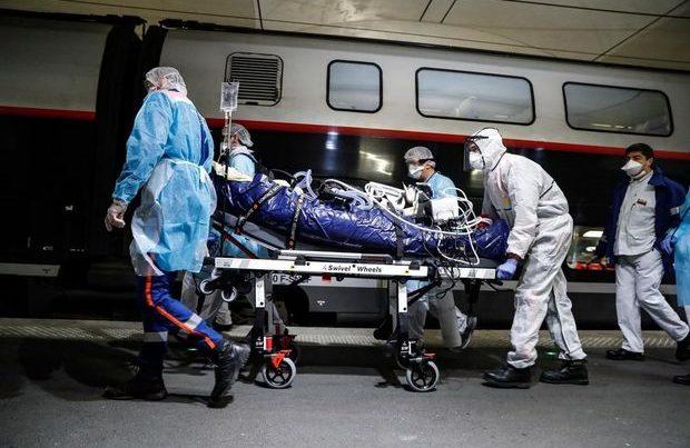 Fransada xəstəxanalarda yer qalmadığından COVID-19 xəstələri Almaniyaya göndərilir