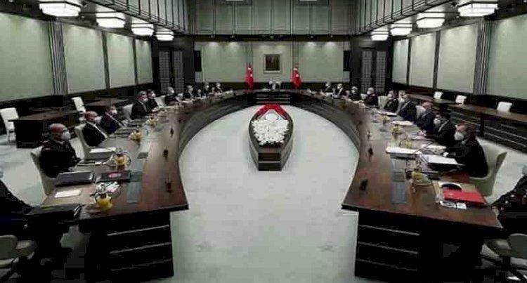 Bu gün Türkiyə Milli Təhlükəsizlik Şurasının iclası keçirilib.