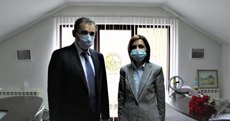 Azərbaycanın Moldovadakı səfiri Prezident İlham Əliyevin məktubunu Mayya Sanduya çatdırıb