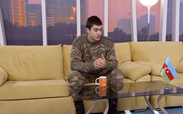 """Şəhid polkovnikin oğlu: """"Atamın qisası alındı"""" – VİDEO"""