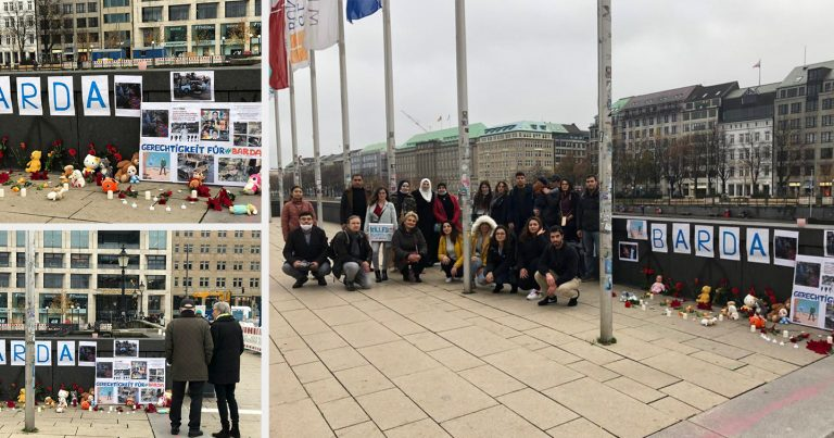 Hamburqda erməni terrorunun qurbanları yad edilib
