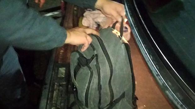 Abşeronda komendant postundan heroin keçirmək istəyən şəxs saxlanıldı – FOTO/VİDEO