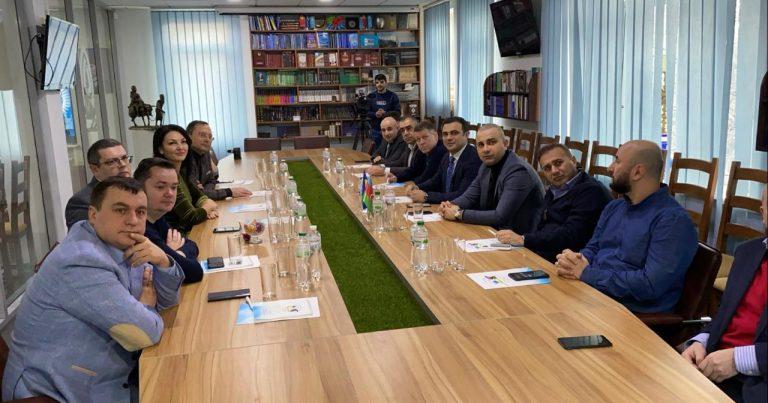 Ukrayna Azərbaycanlıları Radasında deputatlarla ilə görüş keçirilib