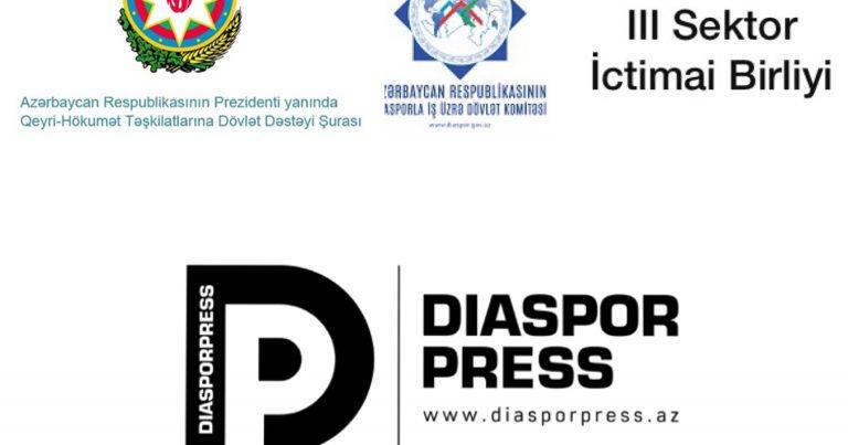 Şuranın dəstəyilə DiasporPress saytı yenidən qurulub