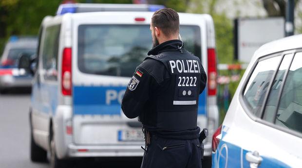 Berlində atışma: Yaralılar var