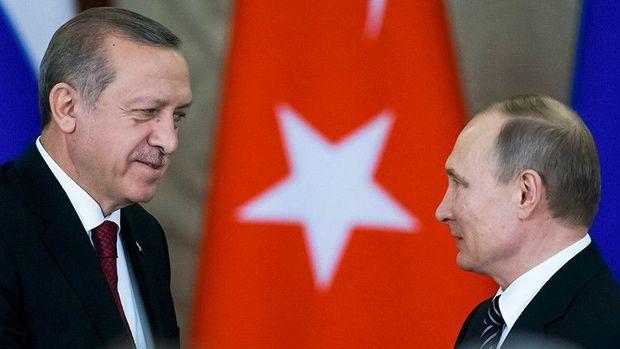 """Ərdoğan: """"Putin verdiyi sözə əməl edən dürüst insandır"""""""
