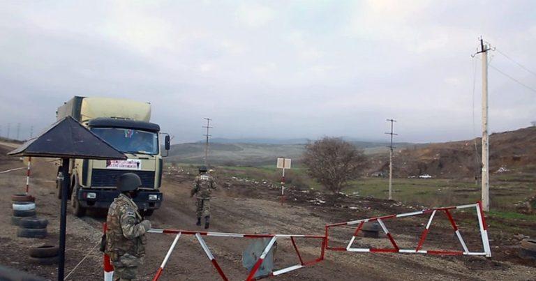 Hərbi polis azad edilmiş ərazilərdə təhlükəsizliyin təminində iştirak edir