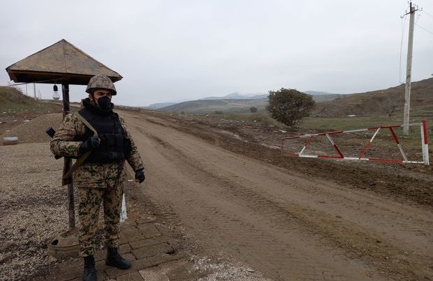 Azərbaycan polisi Xocavənddə postlar qurdu – FOTO
