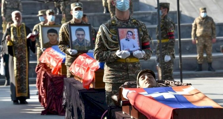 Ermənistan 10 min hərbçisini itirib – General Açıqladı