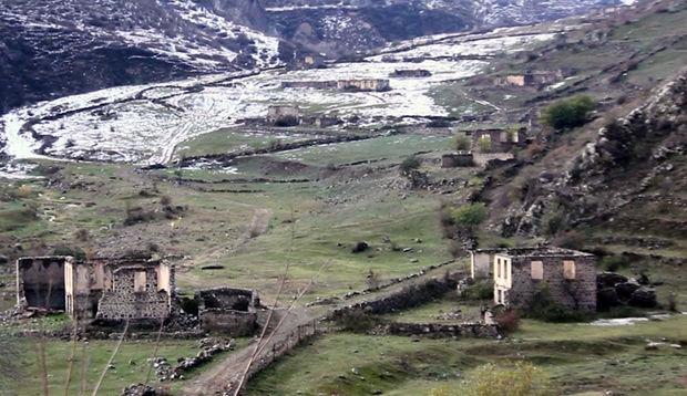 Laçın rayonunun Hüsülü və Malıbəy kəndlərinin görüntüləri – VİDEO