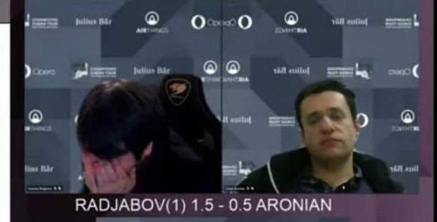 Teymur Rəcəbov Aronyana qalib gəldikdən sonra kövrəldi – VİDEO