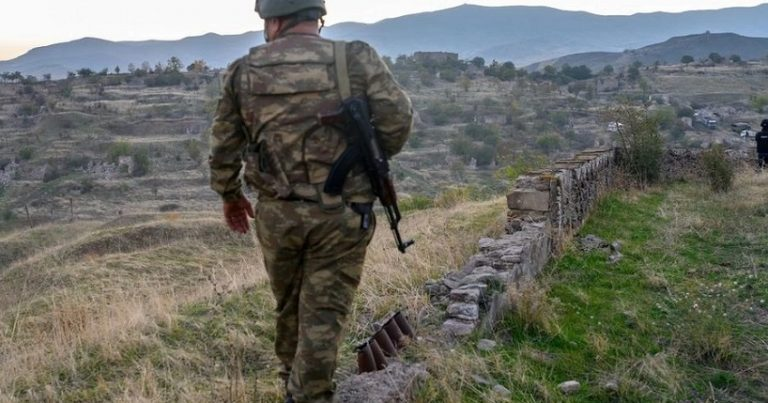 Azərbaycan hərbçiləri Şurnux kəndində post qurdu: ermənilərə vaxt verildi –VİDEO