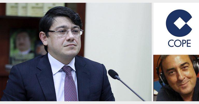 Fuad Muradov İspaniya radiosuna müsahibə verib