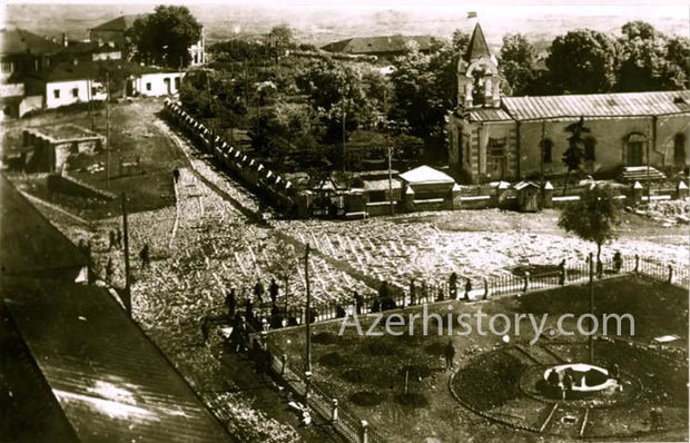 Xankəndi şəhəri 1920-1930-cu illərdə – FOTO