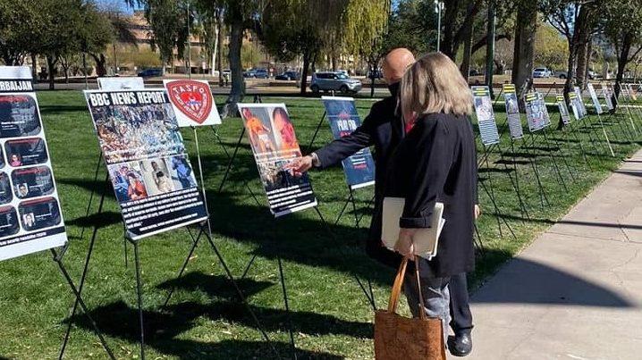ABŞ-da erməni terrorunu əks etdirən sərgi təşkil olundu – FOTO