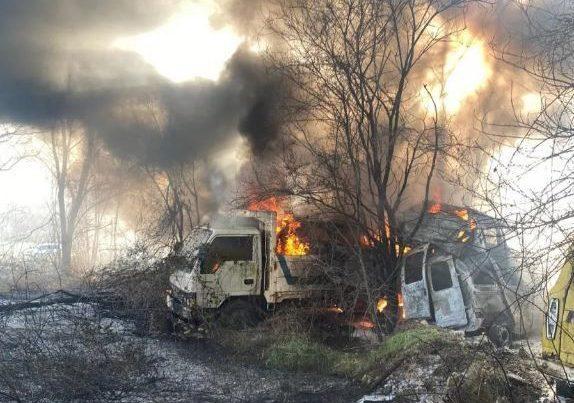 Türkiyədə yanğın nəticəsində 30 avtomobilə zərər dəyib – VİDEO