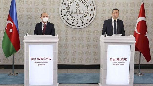 """Təhsil naziri türkiyəli həmkarı ilə görüşdə: """"İmzalanan protokoldan gözləntilərimiz böyükdür"""" – VİDEO"""