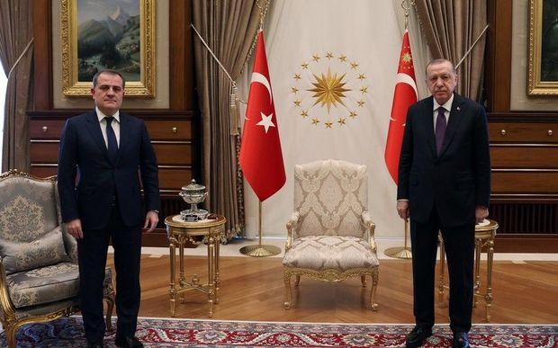 Türkiyə prezidenti Ceyhun Bayramovu qəbul etdi – VİDEO