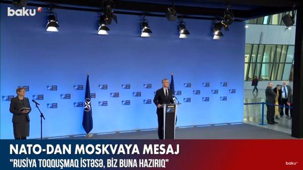 NATO-dan rəsmi Moskvaya sərt mesaj – VİDEO