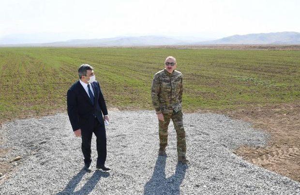 Prezidentdən tapşırıq: 100 min hektar torpaq sahəsi su ilə təmin olunacaq